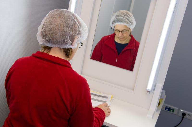 Auto-évaluation d'une volontaire